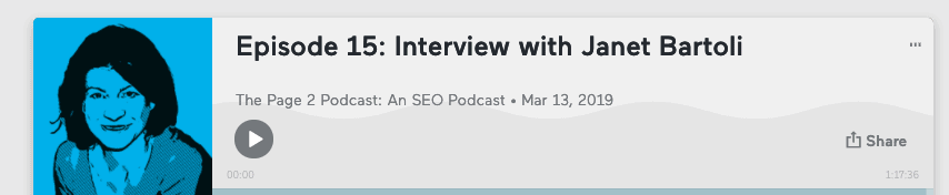 janet bartoli podcast